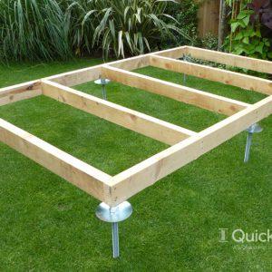 shed base kits plastic shed bases foundation solutions. Black Bedroom Furniture Sets. Home Design Ideas